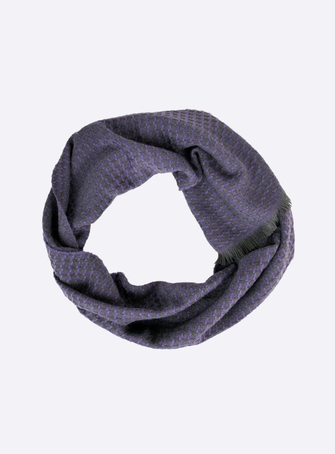 sjaal paars