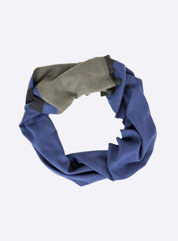 sjaal royal blauw