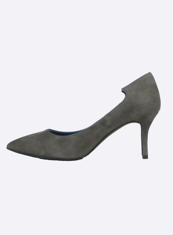 pump suede taupe