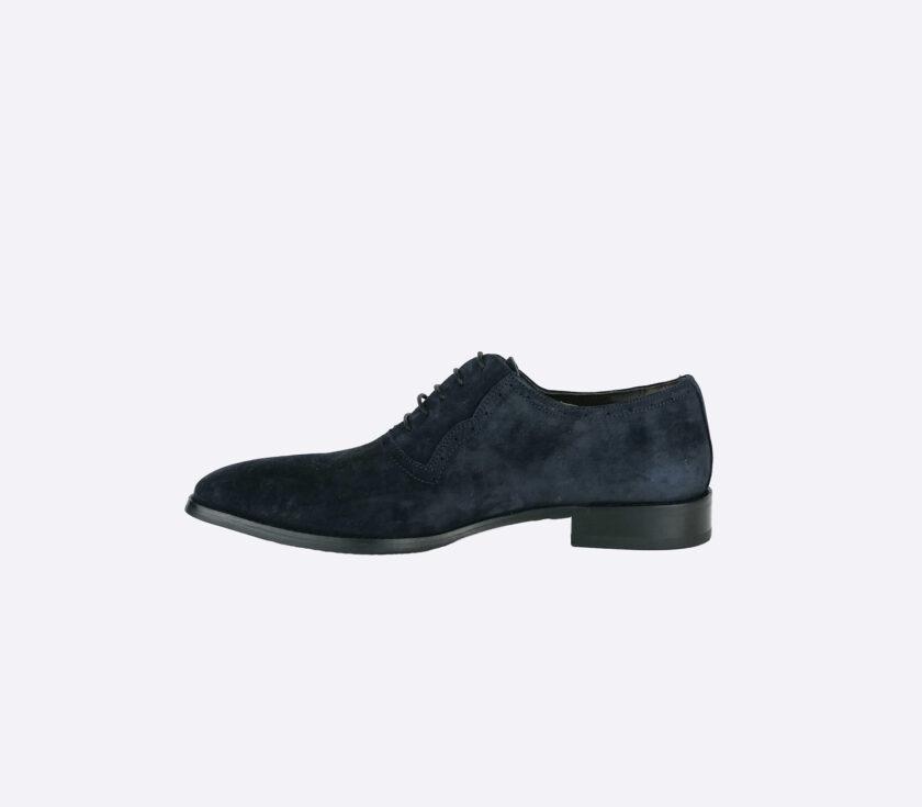 Schoenen donkerblauw suede